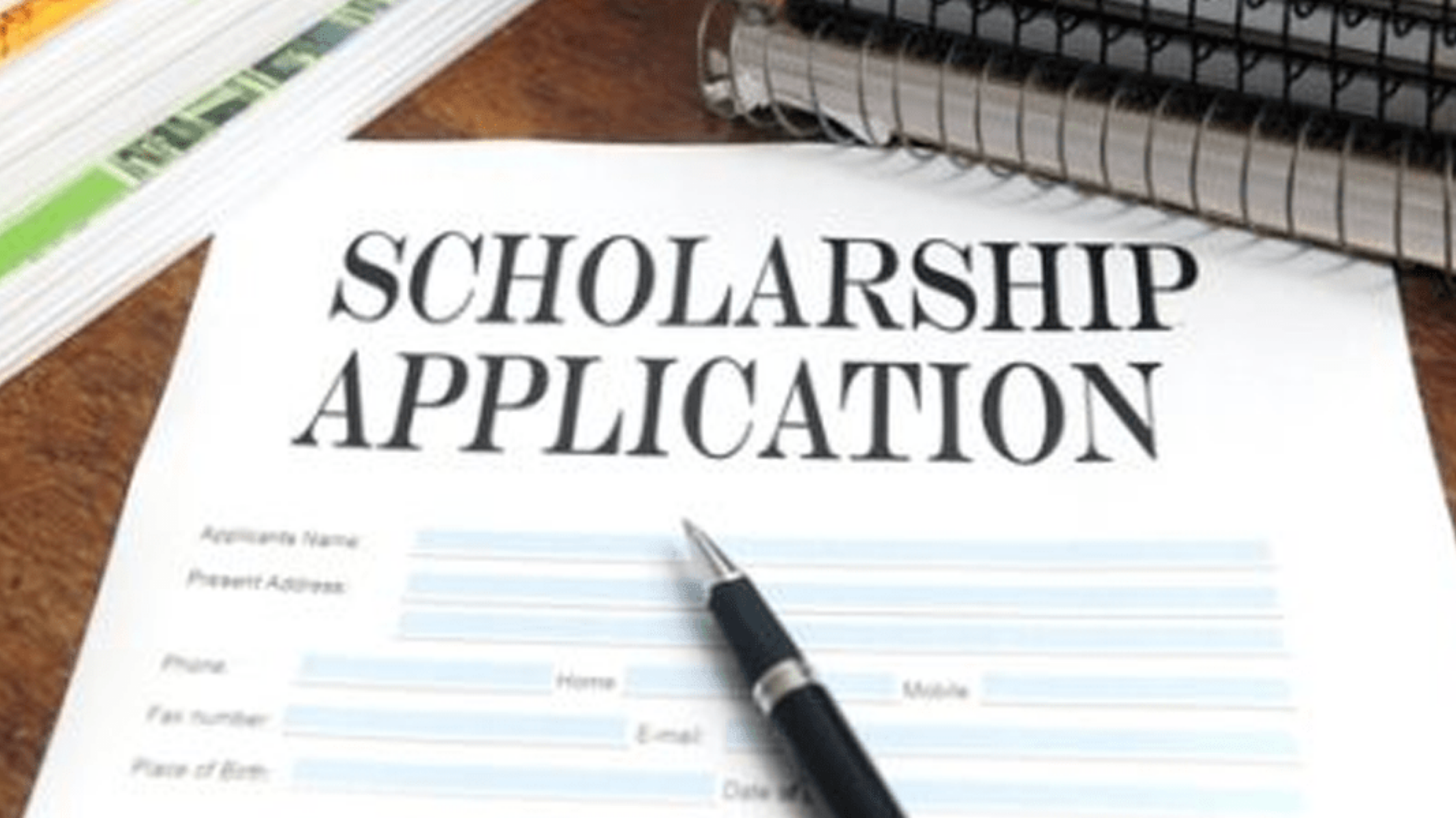 Documents needed for scholarship application 2020