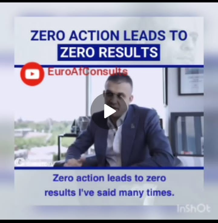 You are currently viewing Zero Action Leads to Zero Results