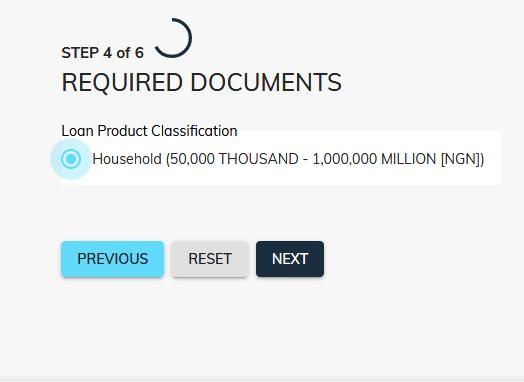Covid-19 Nirsal Microfinance Bank Loan Application