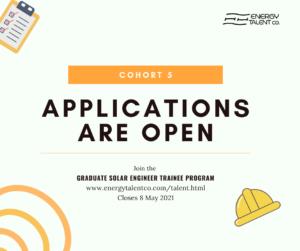 Energy Talent Graduate Solar Engineer Trainee Program