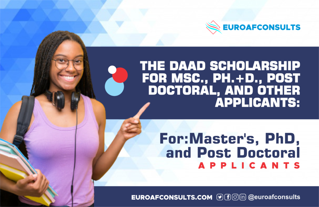 Scholarship for DAAD Master Science