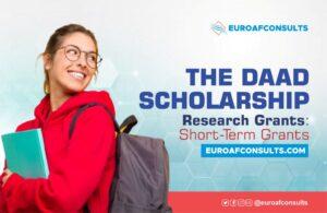 DAAD Scholarship Research Grants – Short-Term Grants