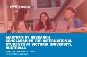 Read more about the article Masters by Research Scholarships for International Students at Victoria University, Australia