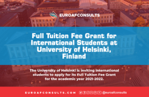 Read more about the article Full Tuition Fee Grant for International Students at University of Helsinki, Finland