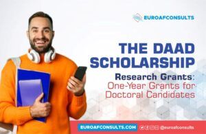 Read more about the article DAAD Scholarship Research Grants – One-Year Grants for Doctoral Candidates