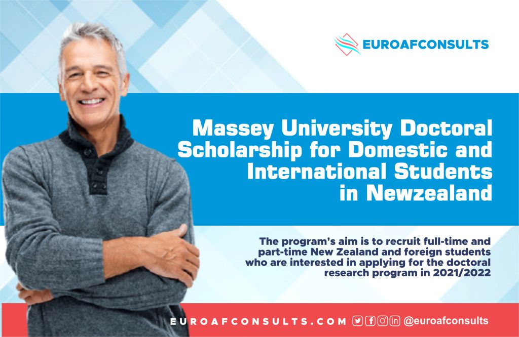You are currently viewing Massey University doctoral Scholarship  programme for Domestic and International Students in New zealand