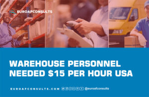 Read more about the article Warehouse Personnel Needed $15 per Hour USA