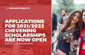 Read more about the article Applications for 2021/2022 Chevening Scholarships are now open.