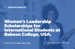 Read more about the article Women's Leadership Scholarships for International Students Apply