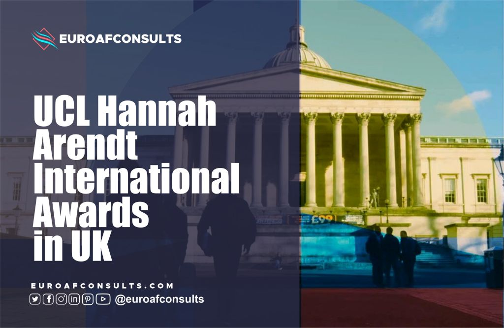 You are currently viewing UCL Hannah Arendt international awards in the UK