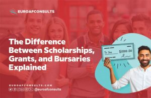 Read more about the article The Difference Between Scholarships, Grants, and Bursaries Explained