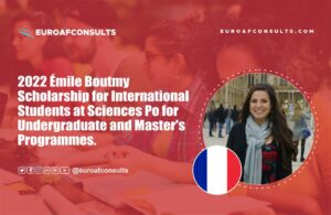 Read more about the article 2022 Émile Boutmy Scholarship for International Students at Sciences Po for Undergraduate and Master's Programmes
