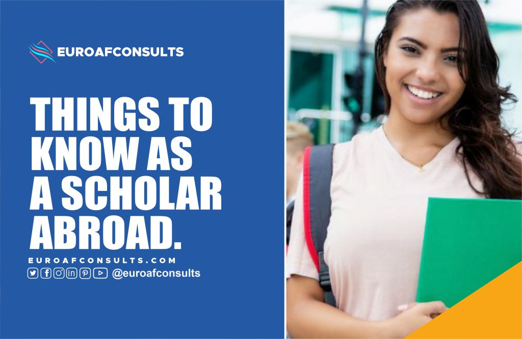 You are currently viewing Five Things to Know as a Scholar studying abroad