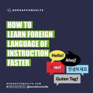 Read more about the article HOW TO LEARN FOREIGN LANGUAGE OF INSTRUCTION FASTER