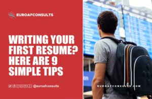 Read more about the article 9 simple tips writing your first resume and CV