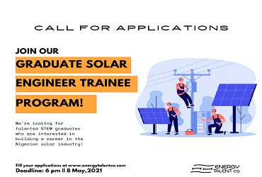 Graduate Solar Engineer Program